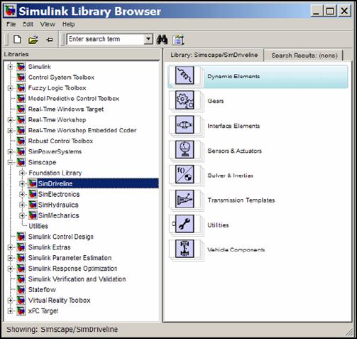 SimDriveline Software